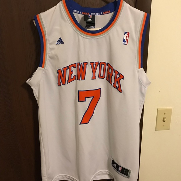 wholesale dealer 333f8 6852a NBA Authentic Adidas Carmelo Anthony Knicks Jersey